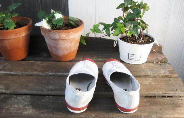 上履きの頑固な汚れを落とす方法は?黒ずみを白くするための洗剤や洗い方は?